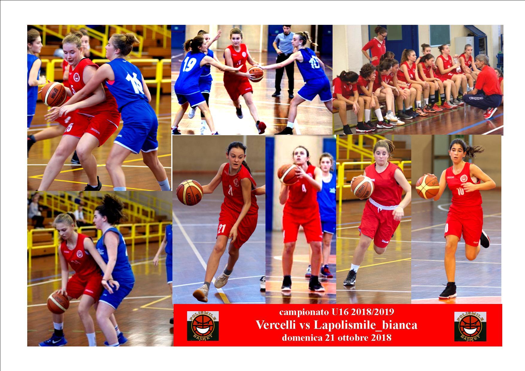 Under 16: LaPolismile Rossa vince con il Campus Piemonte