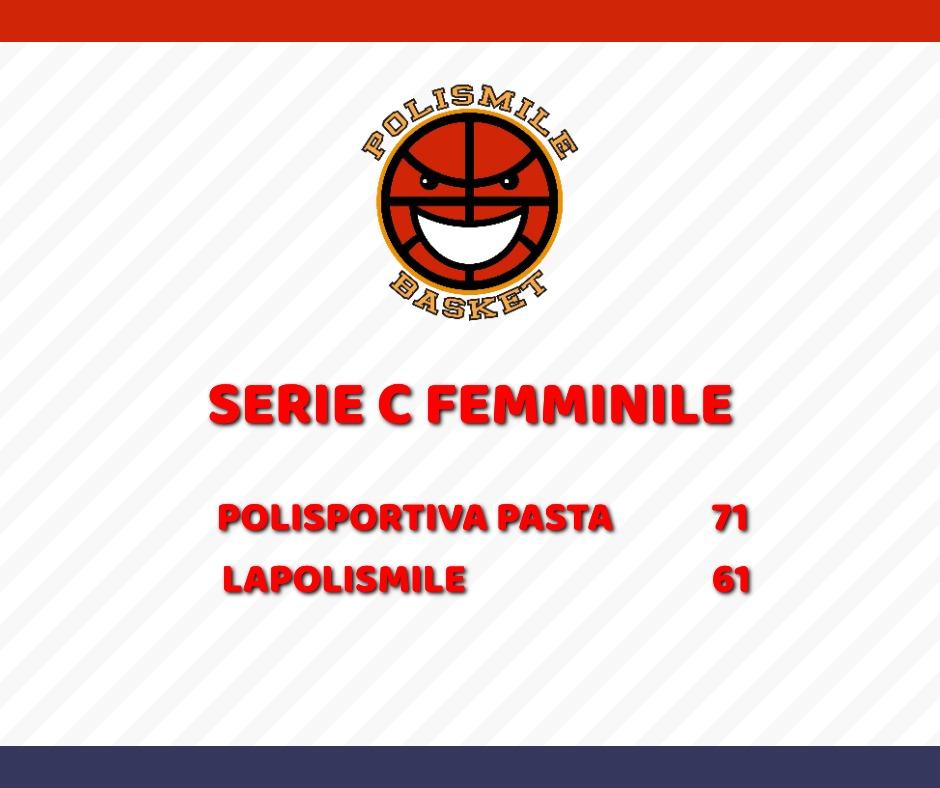 Polismile cade a Pasta e incassa la prima sconfitta