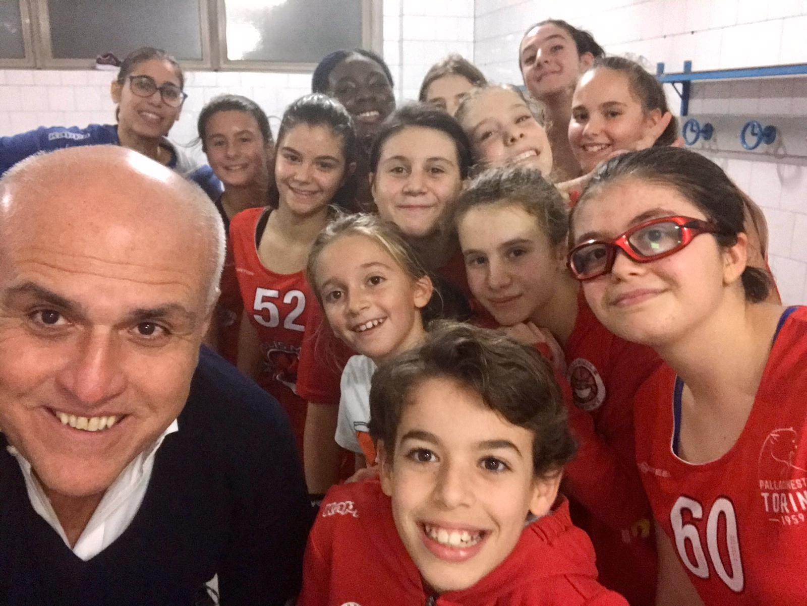 Brave ragazze, bell'esordio in Coppa Piemonte Under 13!