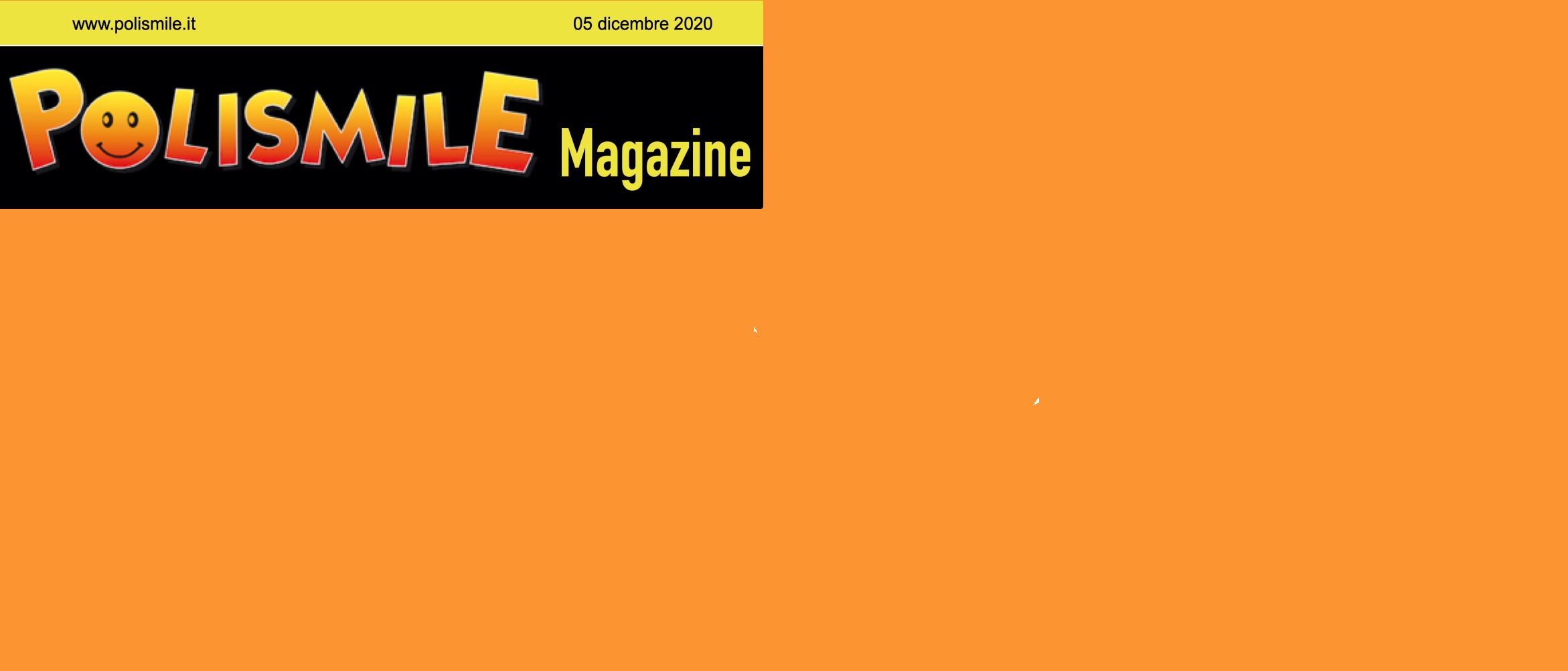 Polismile Magazine: Il numero di gennaio è online!