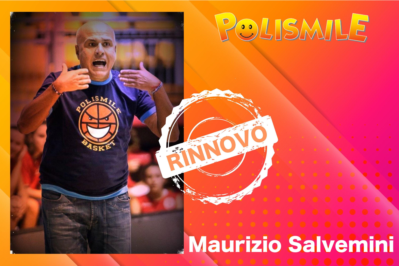 Maurizio Salvemini rinnova con LaPolismile fino al 2024